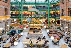 """WeWork Weihai Lu - Linehouse  WeWork opens """"whimsical"""" co-working space in former opium factory"""