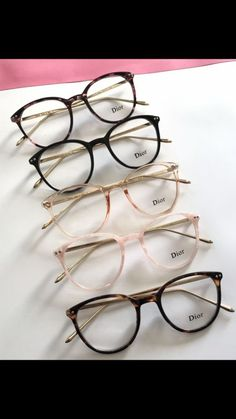 Oct 2019 - Modern cat-eye glasses rounded thin plastic frames by Dior - Dior Eyeglasses - Trending Dior Eyeglasses. - Modern cat-eye glasses rounded thin plastic frames by Dior Glasses Frames Trendy, Fake Glasses, Cool Glasses, New Glasses, Glasses Online, Cat Eye Glasses, Tumblr Glasses Frames, Thin Frame Glasses, Brown Glasses