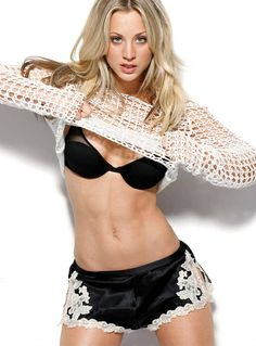Kaley Cuoco/Penny from The Big Bang Theory and her great abs!