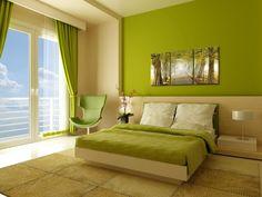 Modern green bedroom decor bedroom decorating ideas and modern bedroom decor ideas about interior design home Green Bedroom Decor, Bedroom Wall Colors, Modern Bedroom Decor, Bedroom Ideas, Bedroom Designs, Green Bedrooms, Contemporary Bedroom, Bedroom Inspiration, Bedroom Furniture