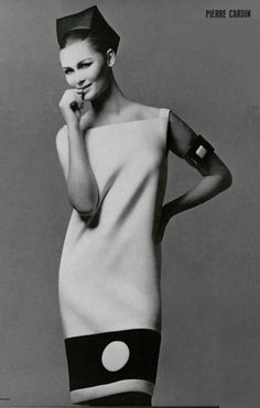 Vintage Fashion by Pierre Cardin 1966