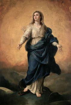 Anton Rafael Mengs (Atribuido a) (German, 1728-1779) - La Inmaculada Concepción. Siglo XVIII. Museo Nacional del Prado