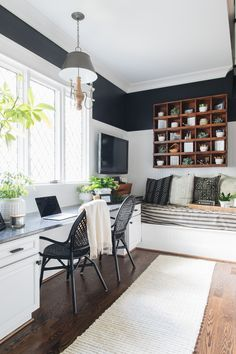 Suitable small home office decorating ideas only in indoneso design