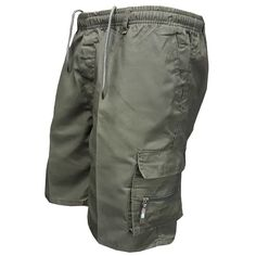 Men Multi Pocket Military Cargo Shorts 2018 Summer Cotton Loose Knee L – heavengif Casual Mode, Men Casual, Military Shorts, Army Pants, Georgia, Pantalon Cargo, Hiking Shorts, Mens Sweatpants, Jogger