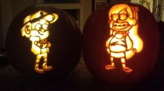 Gravity Falls Pumpkins