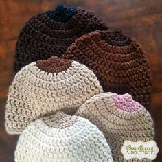 Crochet Breastfeeding Hats | BeanSproutBoutique.com #crochet #nursing #hat
