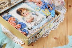 """Made with love: Set for a newborn baby """"Little darlings"""" Little Darlings, Decorative Boxes, Baby, Home Decor, Decoration Home, Room Decor, Baby Humor, Home Interior Design, Infant"""