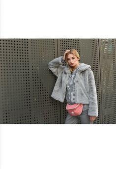 Faux Fur, Fur Coat, Denim, Lady, Jackets, Collection, Fashion, Down Jackets, Moda