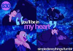 From Disney's Tarzan