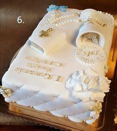 Kommunion - cake for boys Boy Communion Cake, First Holy Communion Cake, Beautiful Cakes, Amazing Cakes, Comunion Cakes, Communion Decorations, Baptism Decorations, Bible Cake, Confirmation Cakes