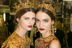 Dolce+Gabbana+Fall+2013+Makeup