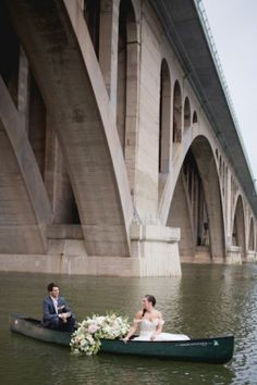 boat wedding exit from potomac river dc wedding by Katy Murray Photography
