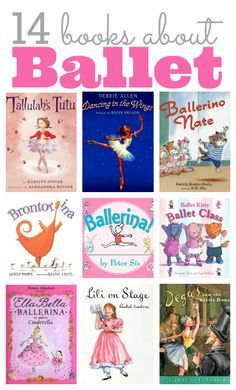 Ballet books for kids - love Brontorina!! Other must reads too. ≈≈★★★≈≈ P.S.: ARE YOU (or your friend) A BALLET DANCER? Look at this ballet CUSTOM NAME SHIRTS and brand them with your name. Great discounts available: https://ShirtsHeaven.com/ballet