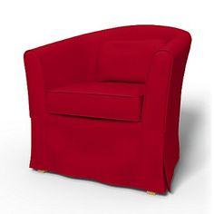 Crimson Red Panama Cotton