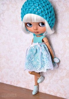 Niesha (OOAK Custom Blythe art doll) by UNNIEDOLLS - customized blythe icy jeccy | eBay