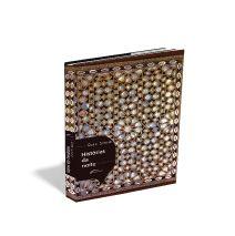 Desenvolvi a arte deste livro de contos - Histórias da noite - que tem o mesmo estilo de 1001 noites, são histórias dentro de uma história principal. Representei essas histórias, como um mosaico, onde cada pedaço, forma a arte inteira, a capa ficou parecendo uma caixa de jóias.
