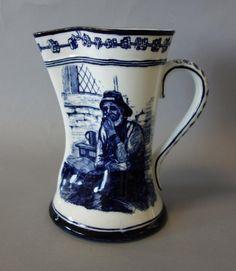Royal Doulton Porcelain Nautical Pitcher
