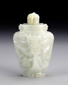 Chinese Jadeite Snuff Bottle