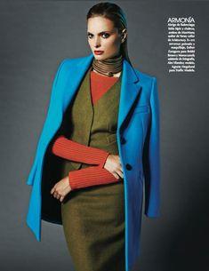 """Full Color"" Vogue Mexico September 2014"