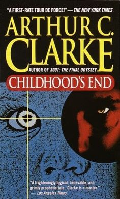 """This is much a """"must read"""" in my opinion. It is a great sci fi that asks questions that influenced science fiction writing in books, tv and movies from when it was written forward. Science Fiction Books, Fiction And Nonfiction, Fiction Writing, Good Books, Books To Read, My Books, Childhood's End, Sci Fi Books, Horror Books"""