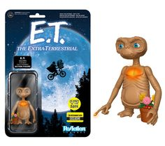 EXTRATERRESTRE Box 3 FIGURE 10cm ET Elliot Gertie FUNKO ReACTION Figures E.T