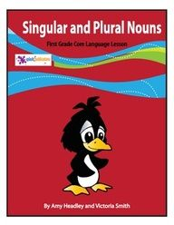 FREEBIE!  Our 1st Grade Singular and Plural Nouns Lesson is aligned with the 1st Grade Common Core Language Standards (CC.1.L.1c).     We've included a full color Singular and Plural Nouns Poster that's ready to print, laminate, and hang in your classroom, a color copy of the lesson for your White Board, black and white versions of the lesson and activities to make copies for your students, and answer pages.