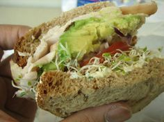 Sándwich Natural (vegetariano)