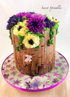 Barrel - Cake by Deepa Pathmanathan