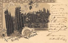 Verona - Giardino Giusti 1898