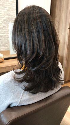 Layered Haircuts For Medium Hair, Haircuts Straight Hair, Long Layered Hair, Medium Hair Cuts, Medium Hair Styles, Long Hair Styles, Layers For Short Hair, Edgy Short Hair, Medium Length Hair Cuts With Layers