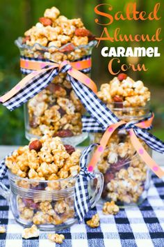 Salted Almond Caramel Corn