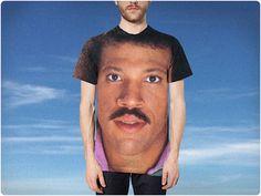 #Festival T-shirts: The Best of #Glastonbury #lionelrichie #face #tshirt