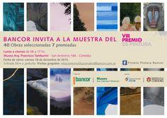 Hasta el viernes 18 se podrá recorrer la muestra del VIII Premio de pintura Bancor 2015. Museo Arq. Francisco Tamburini - San Jerónimo 166. Lunes a viernes de 8 a 17 hs,