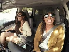 New job: Demi Lovato went undercover as a Lyft driver earlier this month fooling passengers into thinking she was an aspiring singer named Samantha