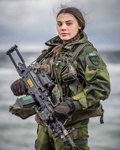 free Fighter Girl Gun for women sites wales uk . Fighter Girl Gun for women warszawa Idf Women, Military Women, Female Soldier, Army Soldier, Swedish Army, Swedish Women, Warrior Girl, Military Police, Military Special Forces