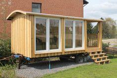 Bauwagen / Gartenhaus – Tischlerei Camperworks