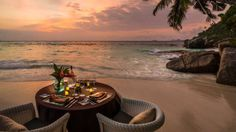 Our private beach dinners on the white sands of Petite Anse are perfect for a dream proposal. It's like popping the question in your own private restaurant!