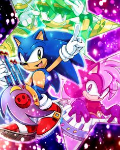 Sonic underground by Drawloverlala on DeviantArt Sonic The Hedgehog, Hedgehog Art, Sonic Underground, Mundo Dos Games, Sonic Heroes, Sonic Fan Characters, Sonic Franchise, Sonic And Shadow, Sonic Fan Art