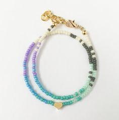 Mermaid Love Wrap Bracelet by LittlePretties28 on Etsy