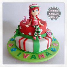 Torta Rosita Fresita - Strawberry Shortcake Cake.