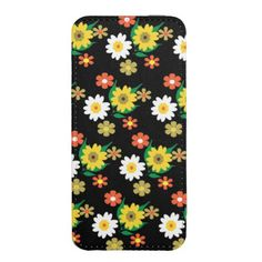 Pretty Retro Inspired Ditsy Floral Design