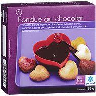 1 FONDUE AU CHOCOLAT 155G