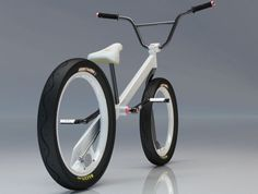 spoke-less, chain-less - nice Design, but is there any company out there developing these spokeless wheels?