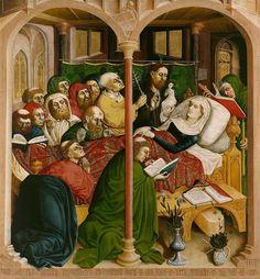 The Wings of the Wurzach Altar 1437 Hans Multscher | Gemäldegalerie, Staatliche Museen zu Berlin