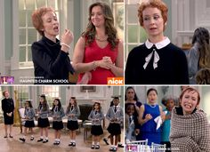 Kelly Lester guest-starring as Lady Beauchamp in The Haunted Hathaways on Nickelodeon Watch Full Episodes, Two Daughters, Show And Tell, Watches Online, Ted, Tv Shows, School, Tv Series