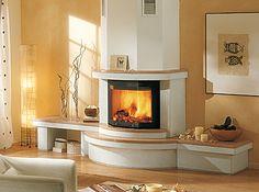 italian fireplace design