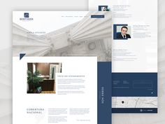 Law firm clean website designed by Henrique Berthier. Connect with them on Dribbble; Lawyer Website, Law Firm Website, Law Web, Information Websites, Websites For Students, Marketing Consultant, Marketing Materials, Web Design, Website Ideas