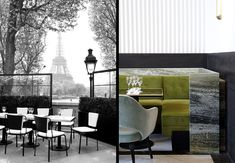 Joseph Dirand Architecture | restaurace Monsieur Bleu, Paříž