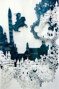 Visual Storytelling Through Intricate Paper Designs -Australian artist Emma Van Leest - My Modern Metropolis