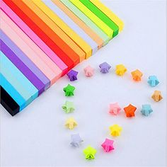 Origami Stars Papers Package  Various All 10 colors  about 800 Sheets * Continue to the product at the image link.
